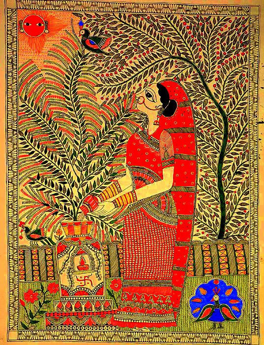 The Worship Of Srimati Tulasi Devi Radhegovind