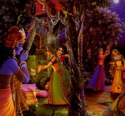 Lord Krishna And Gopis Krishna Amp Gopis